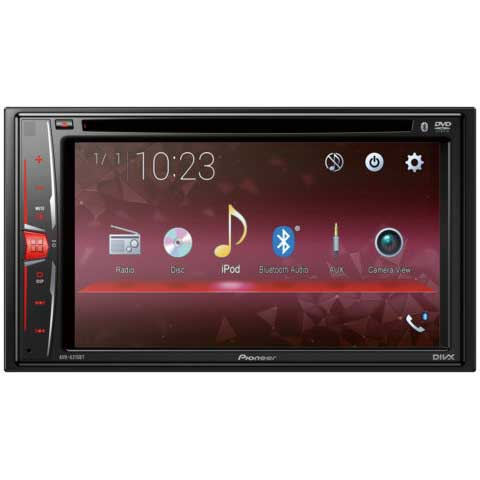 """Pioneer AVH-A215BT 6.2"""" Bluetooth, CD and AUX"""