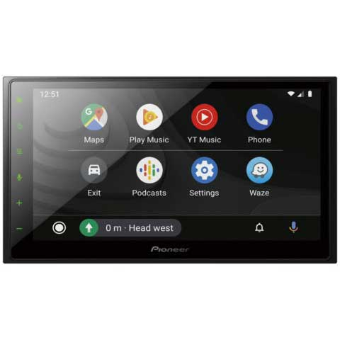"Pioneer DMH-Z5350BT 6.8"" Screen with Apple CarPlay, Android Auto"