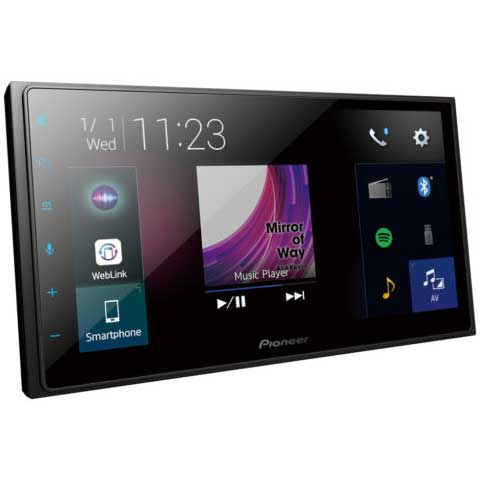 """Pioneer DMH-Z5350BT 6.8"""" Screen with Apple CarPlay, Android Auto"""